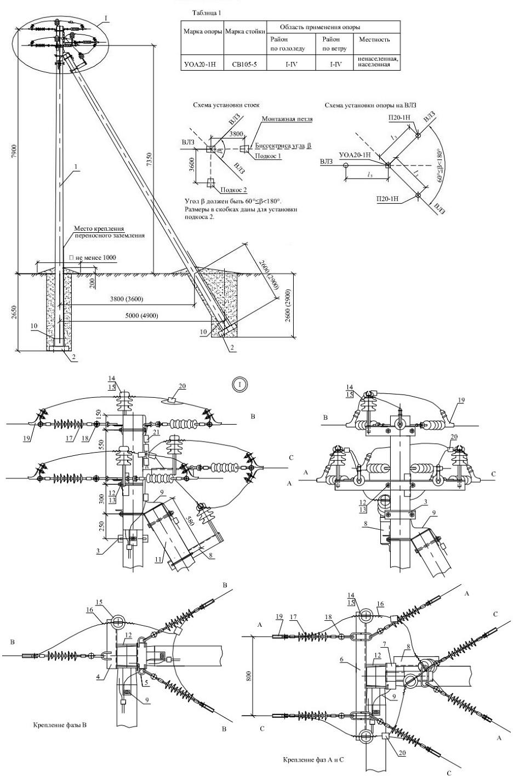 Схема армирования св-105