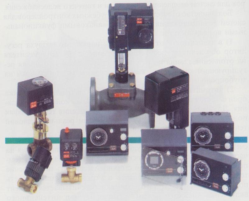 микропроцессорные регуляторы ECL-1000