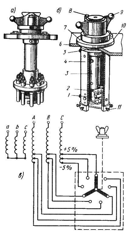 Переключатели отводов обмоток для регулирования напряжения